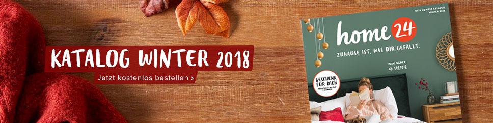 Jetzt den neuen home24 Katalog Winter 2018 kostenlos bestellen