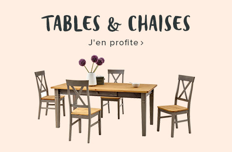 ensembles tables chaises
