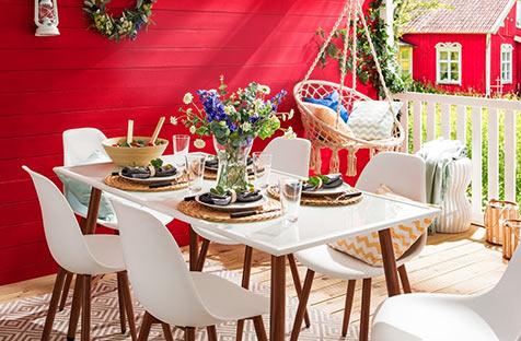 Skandi im Garten bei home24