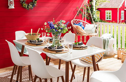 Skandi-Garten bei home24