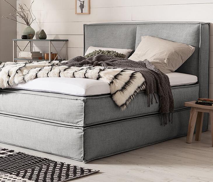 was ist eine boxspringmatratze f r normale betten kaufen home24. Black Bedroom Furniture Sets. Home Design Ideas