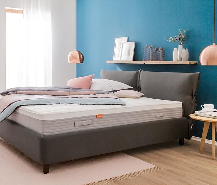 was ist eine boxspringmatratze f r normale betten. Black Bedroom Furniture Sets. Home Design Ideas