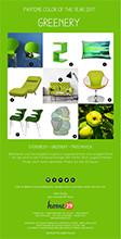pantonfarbe greenery
