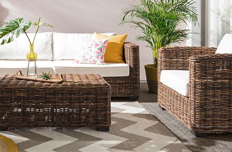 Terrasse estivale chez home24