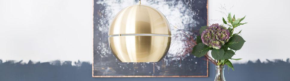 messinglampen leuchten aus messing online kaufen home24. Black Bedroom Furniture Sets. Home Design Ideas