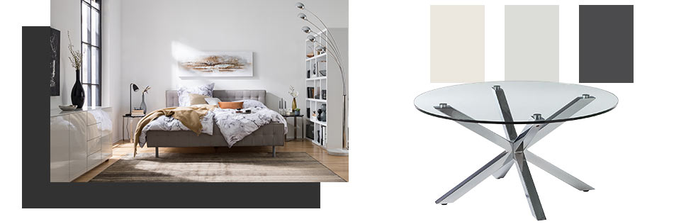 Style moderne chez home24