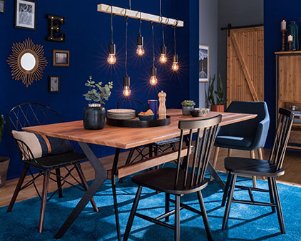 home24 trend Navy Blue