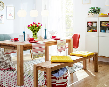 home24 trend Colorful Family Living