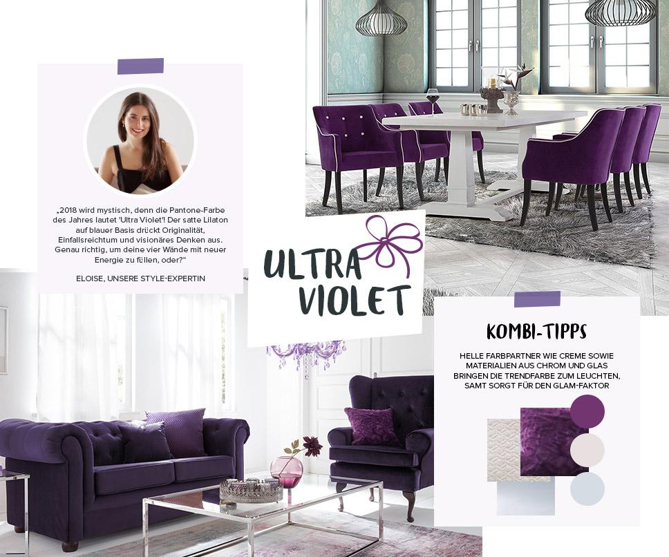 Collage Ultra Violet