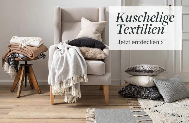 Kuschelige Textilien bei home24