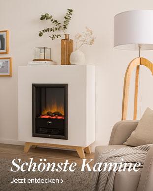 Schöne Kamine fürs Wohnzimmer bei home24