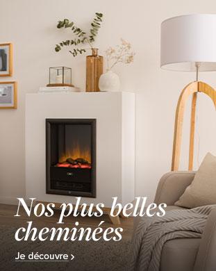Belles cheminées chez home24