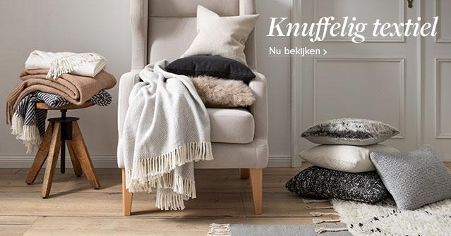 Wollig warm textiel bij home24
