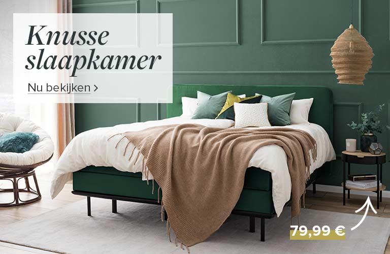 Winterse slaapkamer bij home24