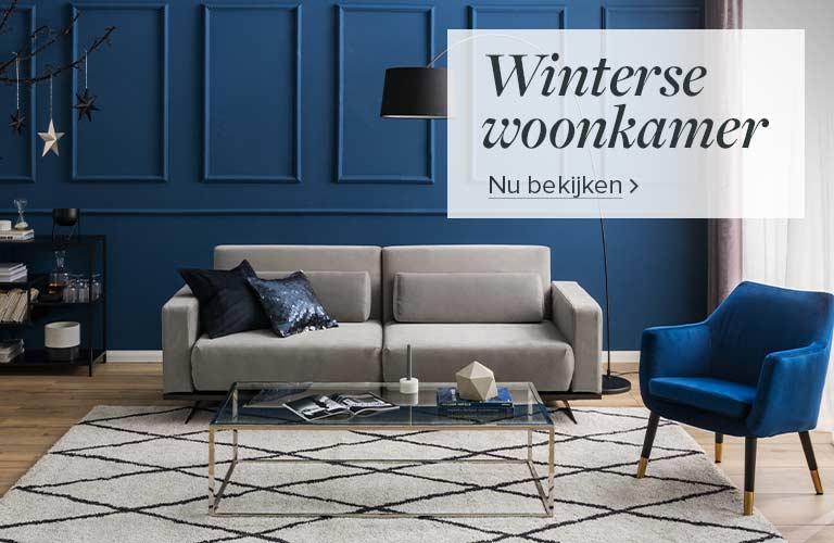Winterse woonkamer bij home24
