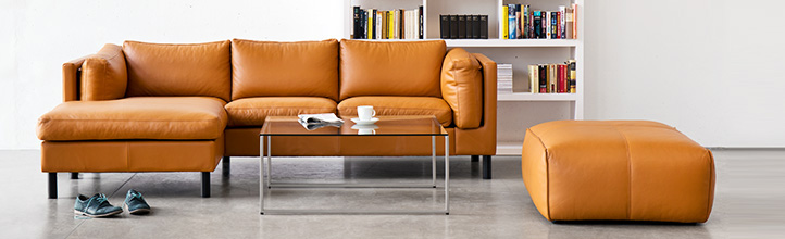 Ledersofa design  Ledersofas günstig online kaufen - Fashion For Home