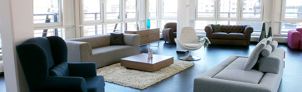 Fashion For Home Showroom Hamburg von innen