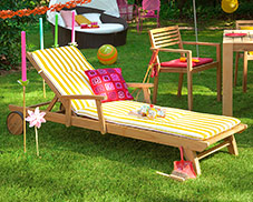 Teakholz-Gartenmöbel bei home24