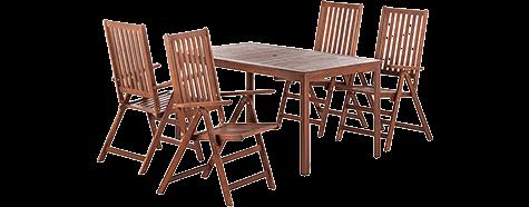 Holz-Gartenmöbel bei home24