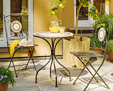 langlebige Gartenmöbel aus Metall bei home24.de