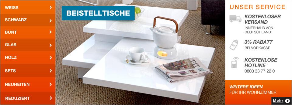 Beistelltische Online-Shop bei Home24