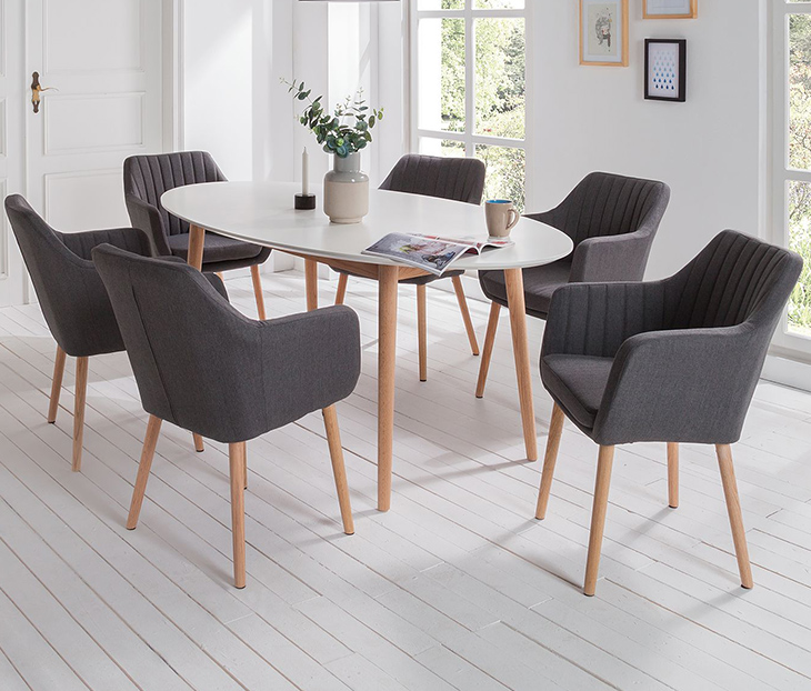 Tische und Stühle - Welcher Stuhl passt zu welchem Tisch? | home24