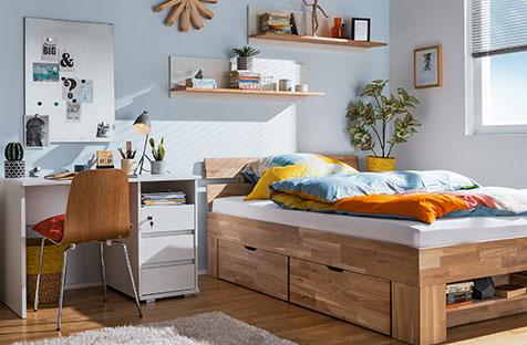 home24 Stauraumbetten, Schlaf- & Ecksofas