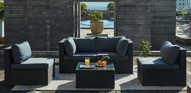 paradise lounge slider