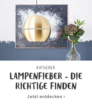 Lampenfieber - die Richtige finden