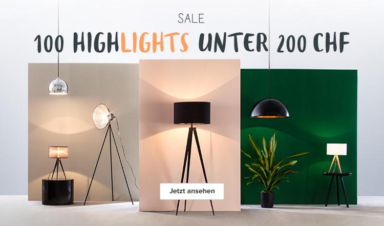 Lampen unter 200€