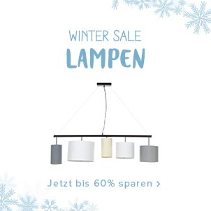 Winter Sale - Lampen
