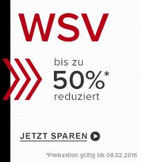 WSV bis zu 60 Prozent sparen