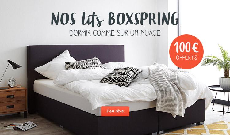 Lits boxspring